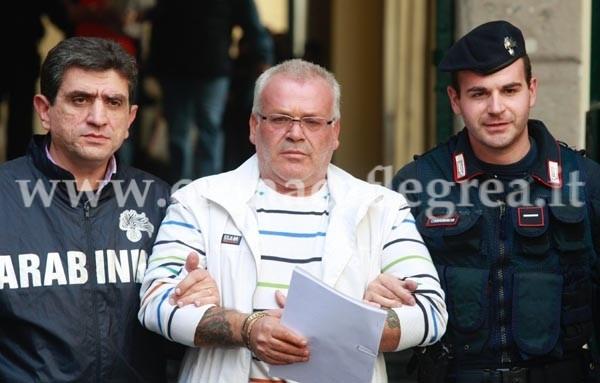 L'arresto di Salvatore Pagliuca
