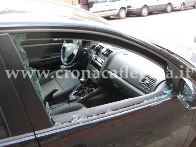 Un finestrino rotto .- immagine della rete