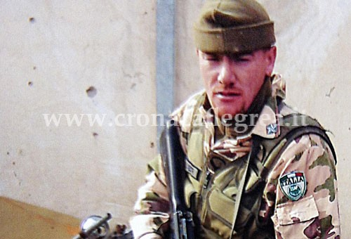 Il sergente maggiore Michele Silvestri