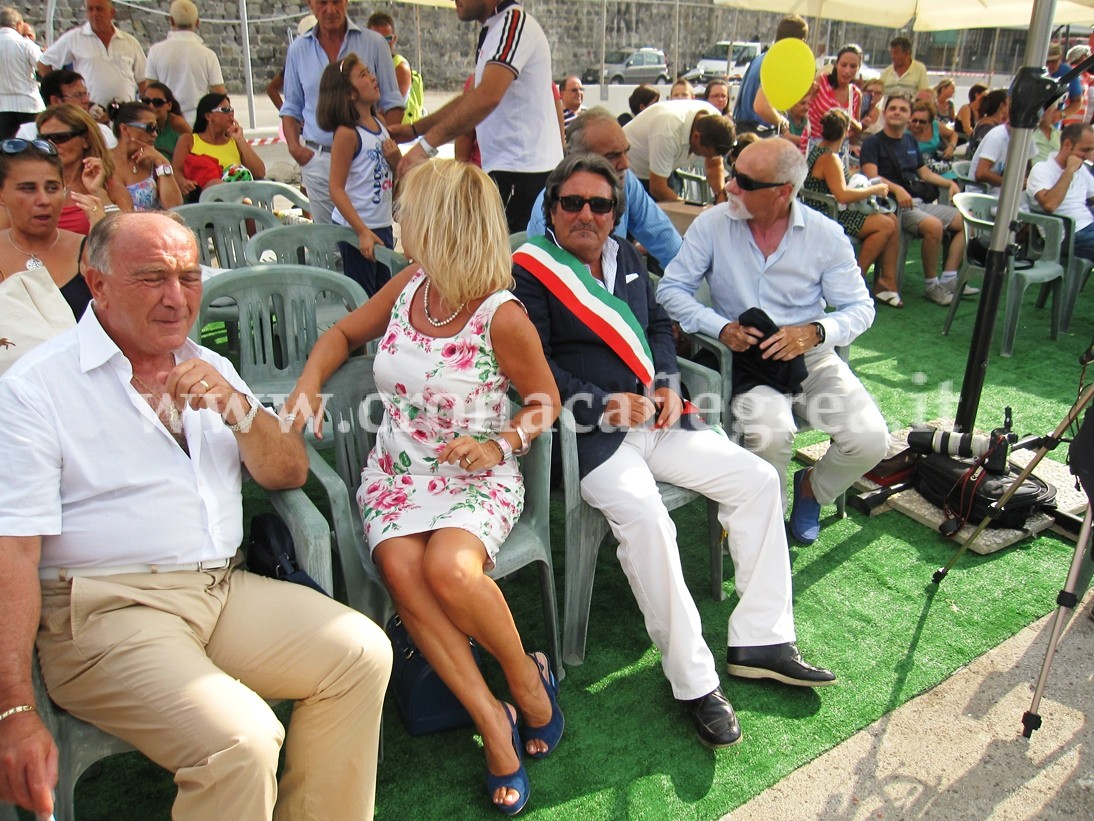Il vice-sindaco Marrandino e gli assessori Stellato, Cammino e Fumo