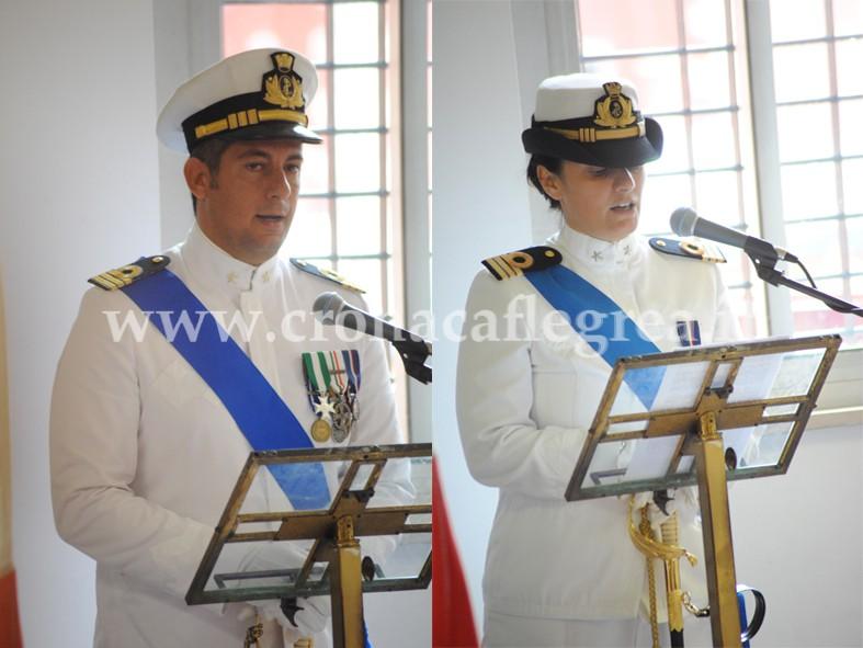 Il Tenente Piccirilli lascia il comando al Tenete Pellegrino