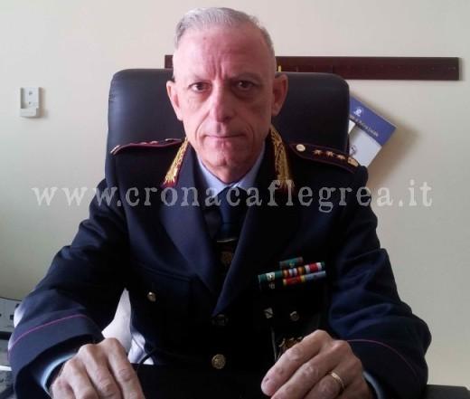 Il comandante della municipale Carlo Pubblico