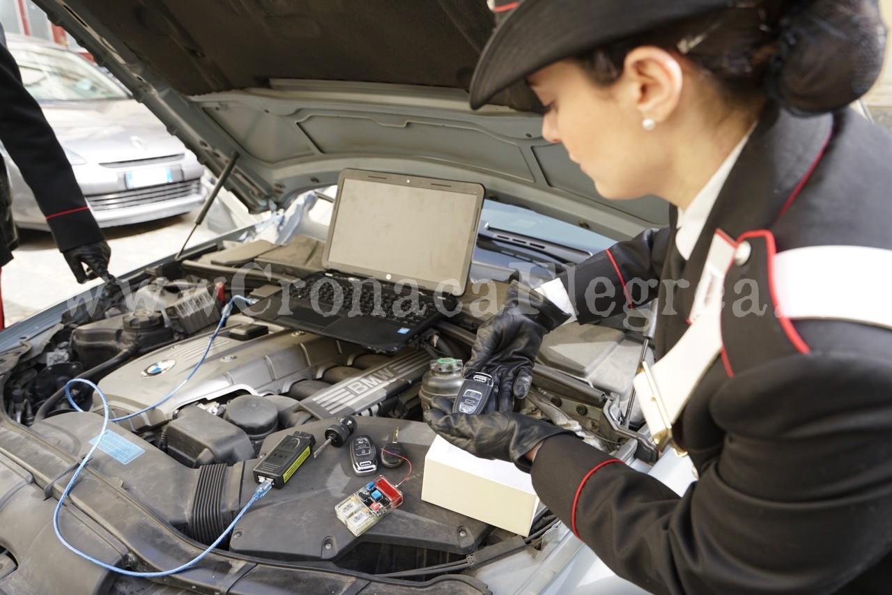 In un garage attrezzi e chiavi da mille euro per rubare for Garage auto les milles
