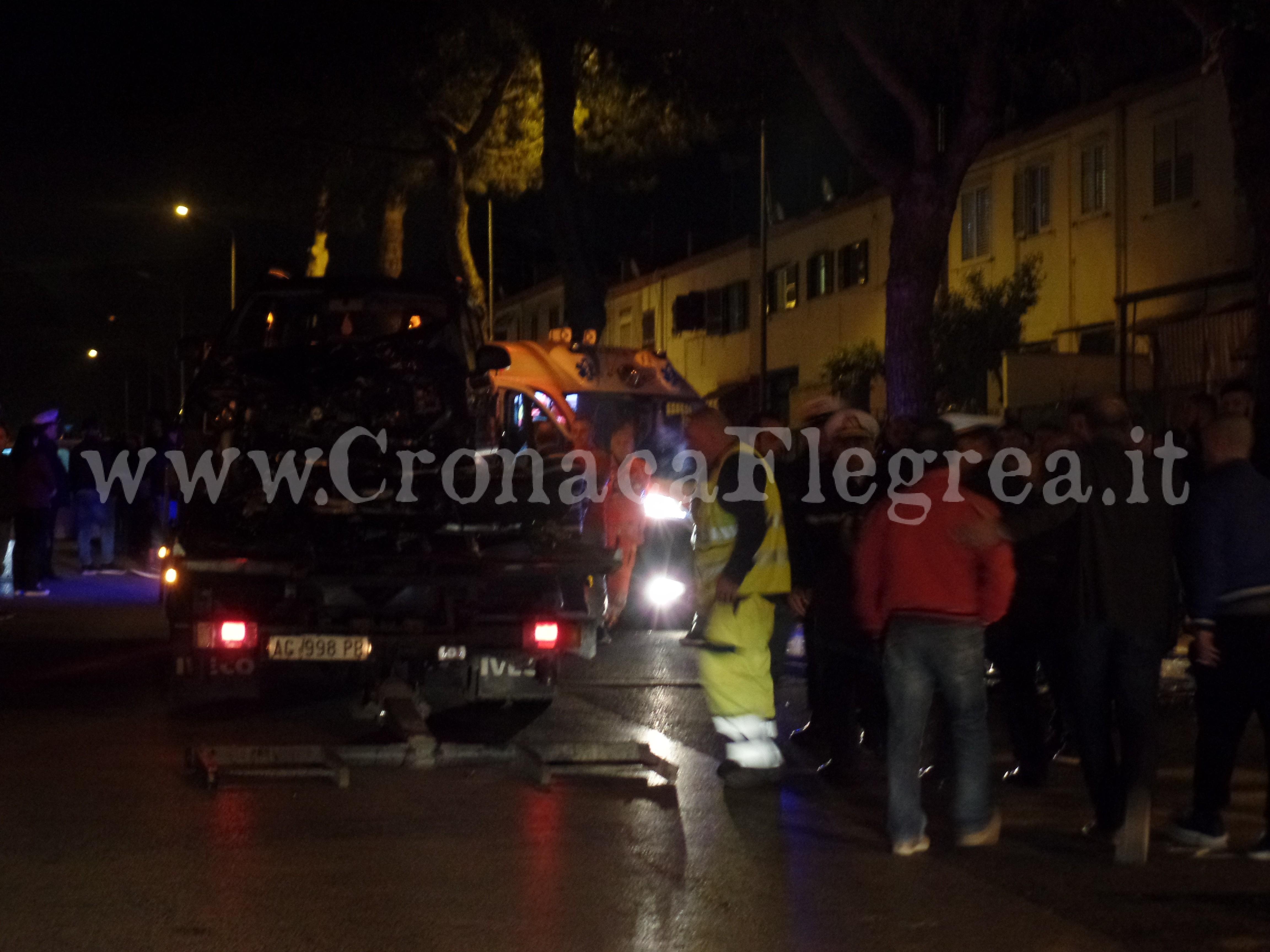 Pozzuoli (Napoli). Centauro Fabrizio Nicola Buono muore in incidente stradale