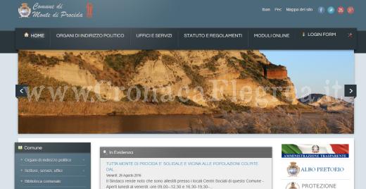 sito internet comune